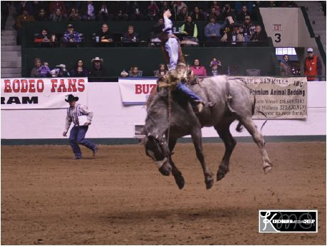 Cowboys climb PRCA standings ladder on Barnes' livestock